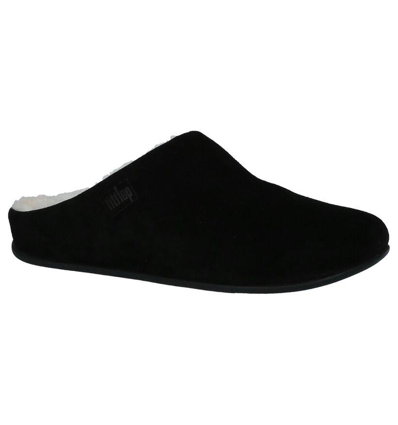FitFlop Pantoufles ouvertes en Noir en daim (225581)