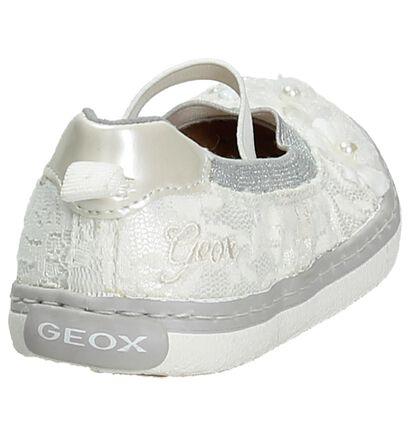 Geox Ballerines en Blanc en textile (190693)