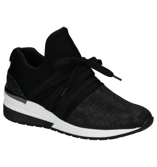 La Strada Chaussures slip-on en Noir