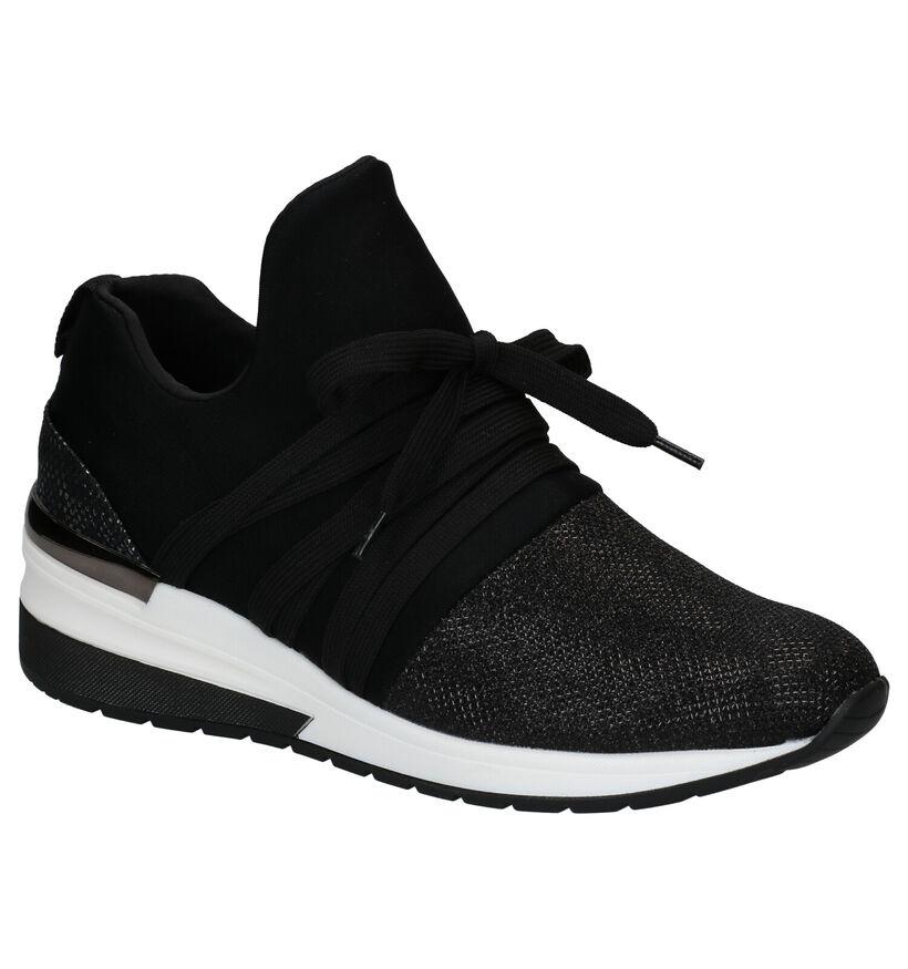 La Strada Chaussures slip-on en Noir en simili cuir (277875)