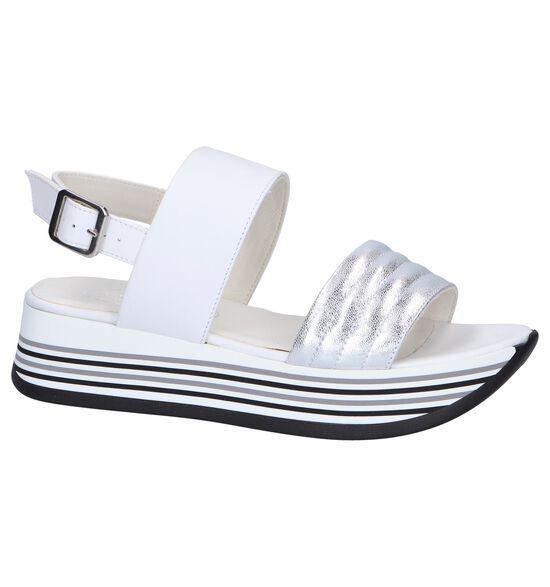 Tine's Sandales à talons en Blanc