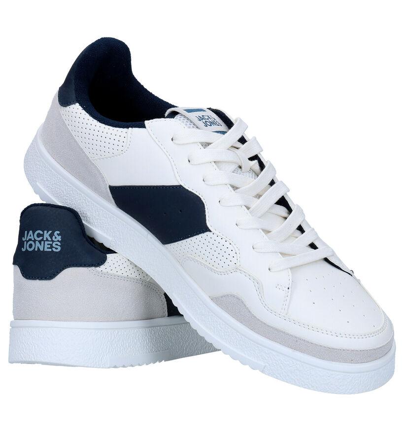 Jack & Jones Witte Sneakers in kunstleer (278265)