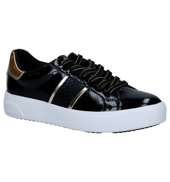 Tamaris Touch it Chaussures à lacets en Noir