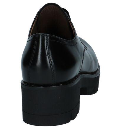 Zwarte NeroGiardini Veterschoenen met Studs in leer (226550)