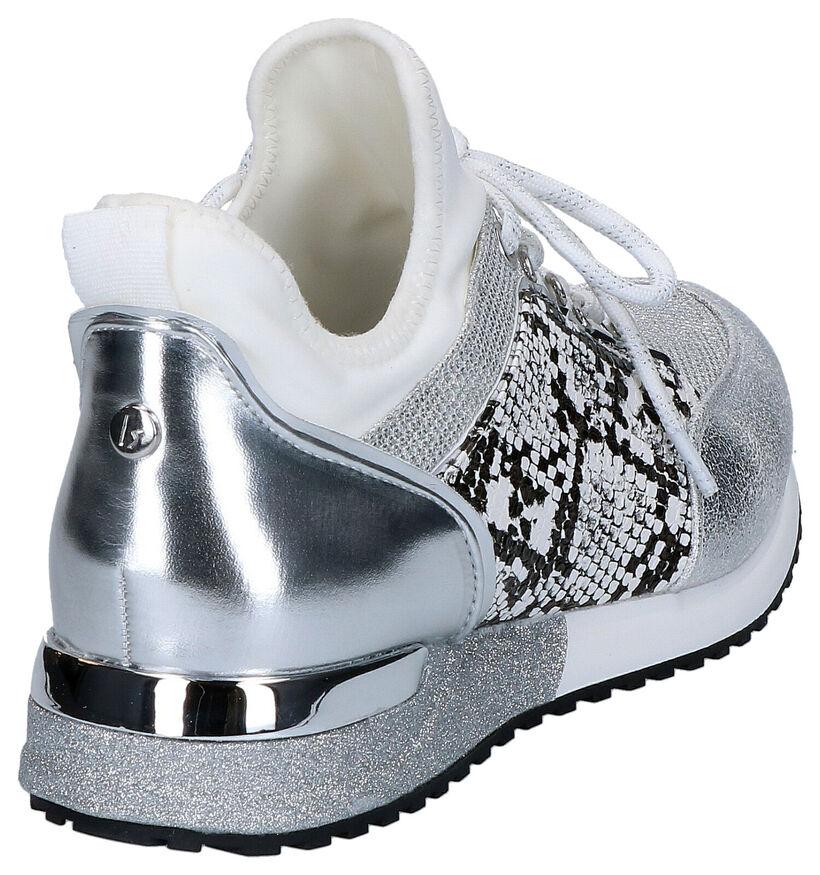 La Strada Zwarte Sneakers in stof (281700)