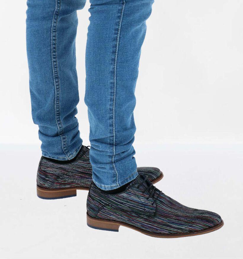 Bullboxer Chaussures basses en Multicolore en cuir (298670)