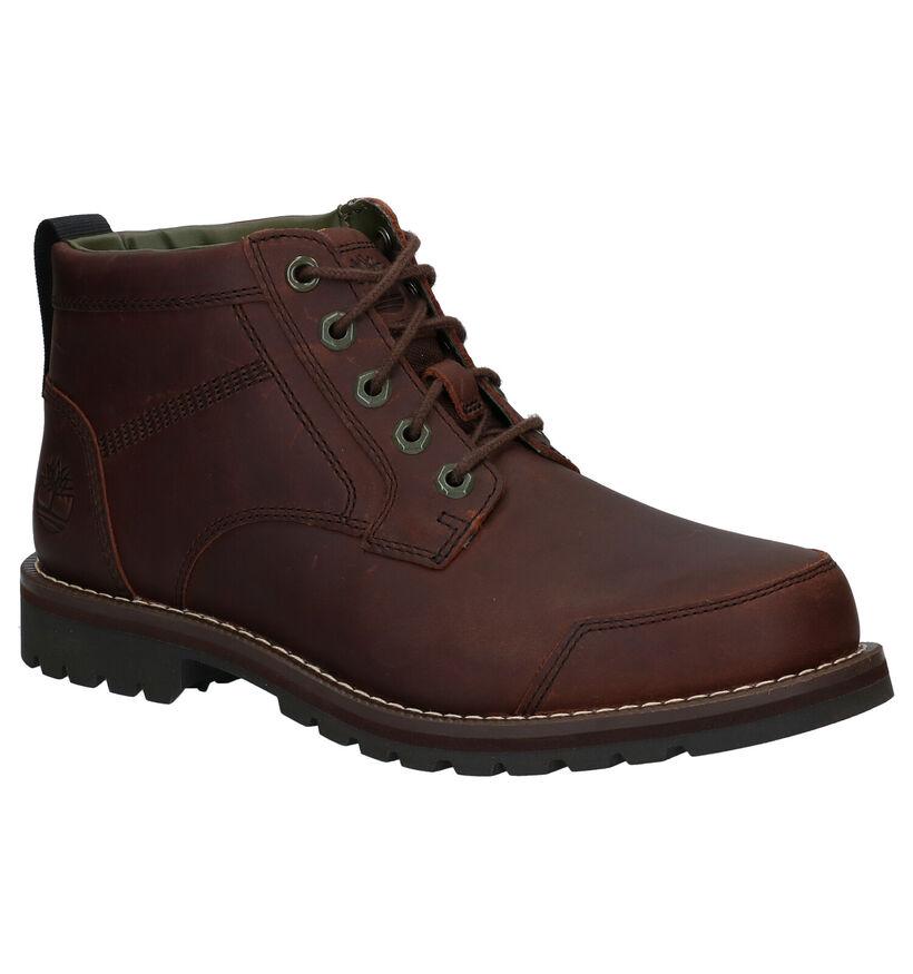 Timberland Larchmont II Chukka Bruine Boots in leer (278944)