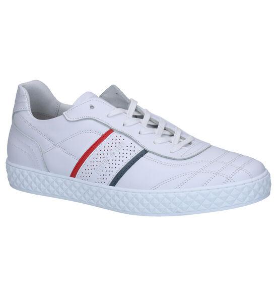Cycleur de Luxe Neo Chaussures à lacets en Blanc