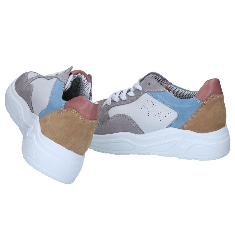 River Woods Multicolor Sneakers in leer (289196)
