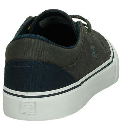 DC Shoes Skate sneakers en Gris foncé en nubuck (200440)