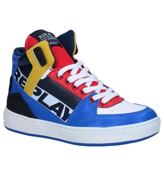 Replay Campos Baskets en Multicolor