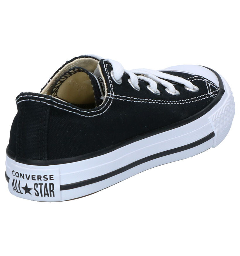Zwarte Sneakers Converse Chuck Taylor AS OX in stof (238426)