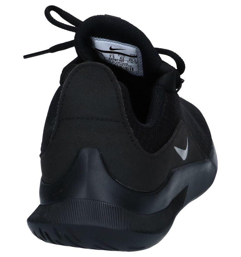 Nike Baskets slip-on en Noir en textile (250332)