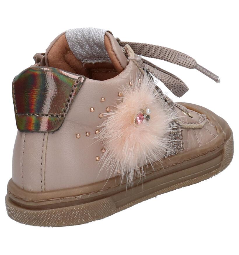 Romagnoli Chaussures pour bébé  en Rose en cuir (259620)