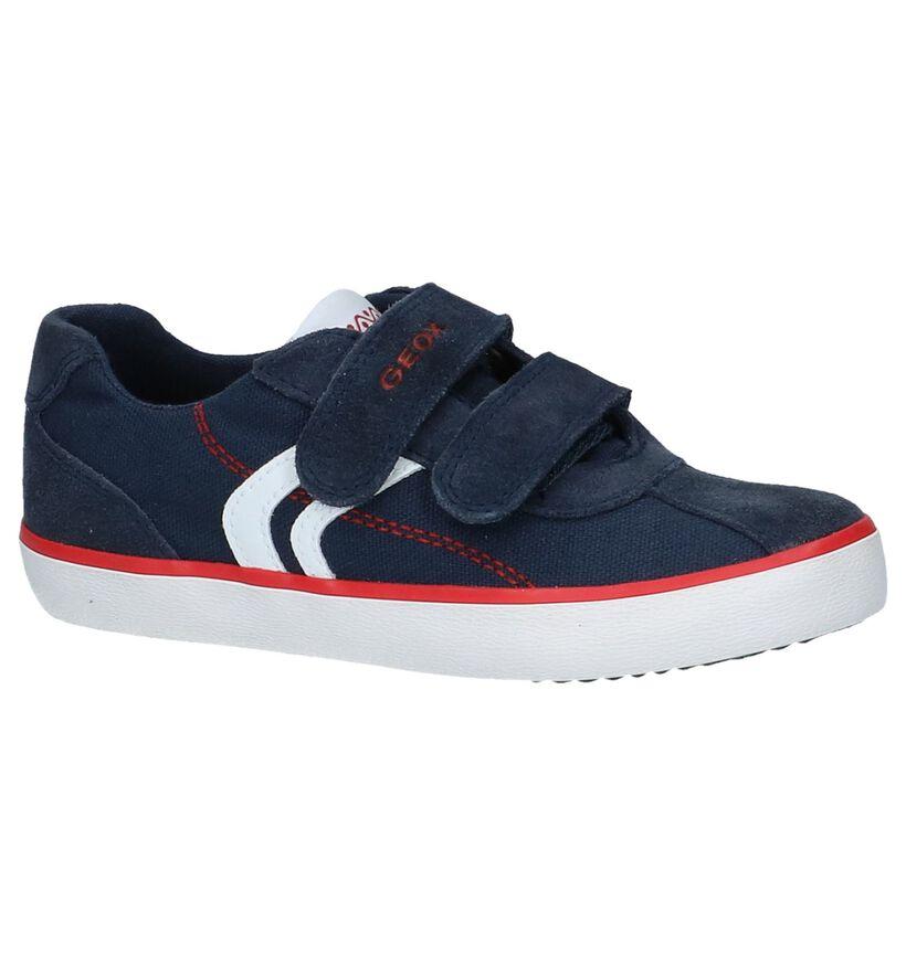 Geox Chaussures basses en Bleu foncé en daim (237936)