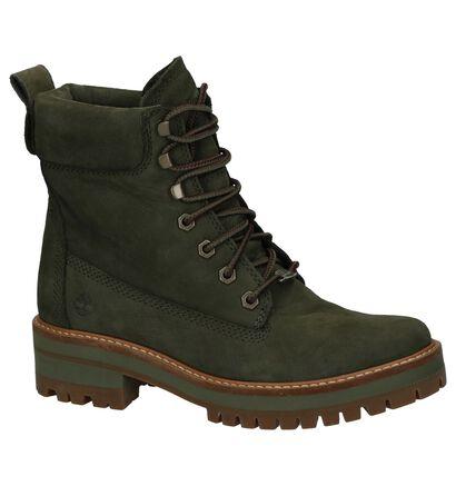 Timberland Courmayeur Valley Kaki Boots in nubuck (222503)