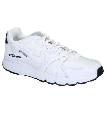 Nike Atsuma Zwarte Sneakers in stof (265914)