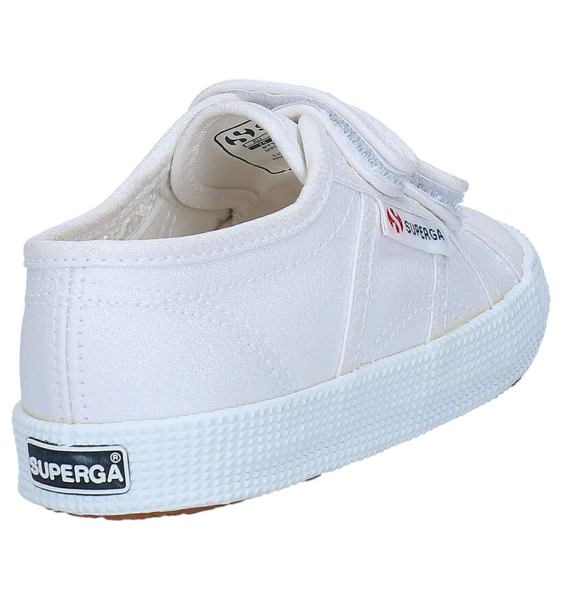 Superga Witte Sneakers in stof (284317)