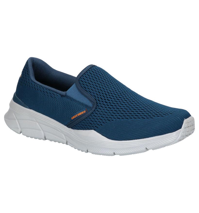 Skechers Relaxed Fit Donkerblauwe Sneakers  Gratis verzend en retour