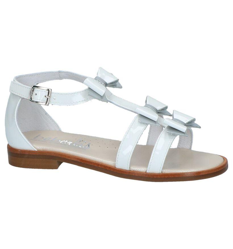 Beberlis Sandales en Blanc en verni (216010)