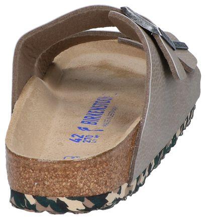 Donkerblauwe Slippers Birkenstock Arizona in kunstleer (213367)