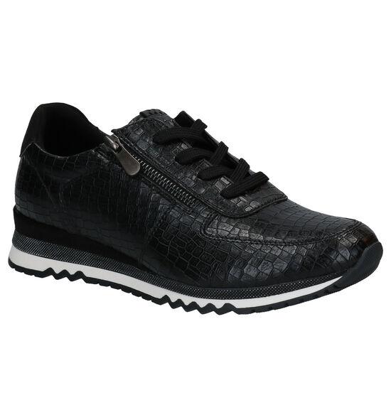 Marco Tozzi Zwarte Sneakers