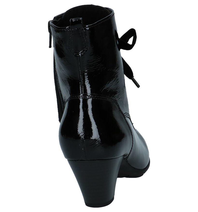 Gabor Bottillons en Noir en cuir (231203)