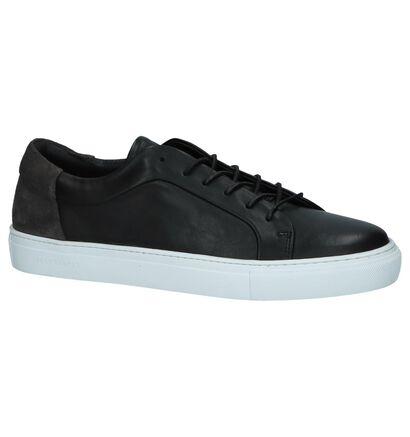 Jack & Jones Sputnik Block Witte Sneakers, Zwart, pdp