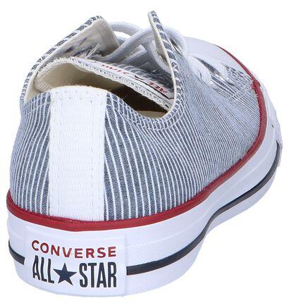 Converse All Star OX Baskets en Noir en textile (266504)