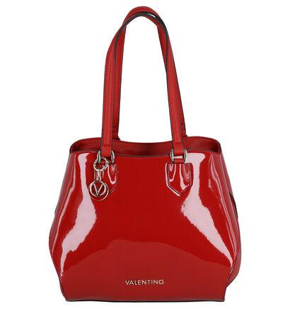 Valentino Handbags Pascal Sac à bandouliére en Rouge en cuir verni (259228)