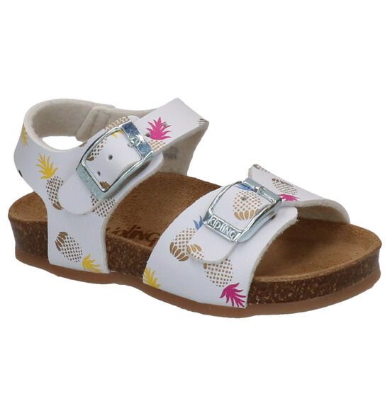 Kipling Nanas Witte Sandalen