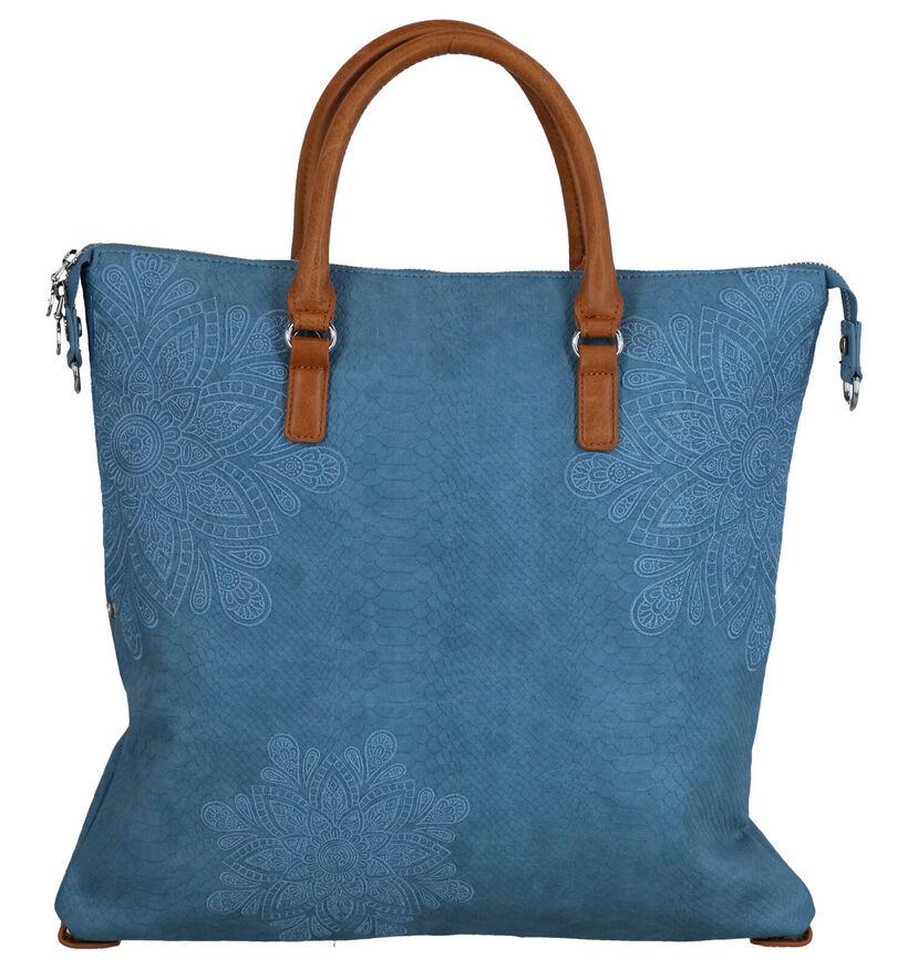 Desigual Cabas en Bleu en simili cuir (267536)