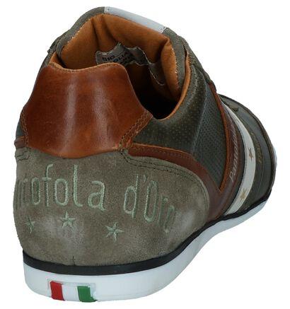 Pantofola d'Oro Vasto Low Witte Veterschoenen in leer (267927)
