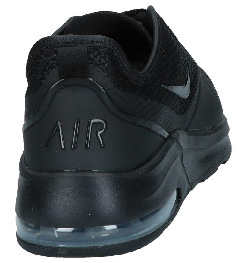 Nike Air Max Baskets basses en Noir en textile (237860)