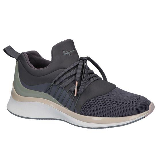 Paarse Slip-on Sneakers Tamaris Fashletics