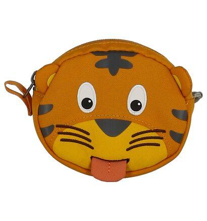 Affenzahn Timmy Tiger Okergeel Crossbody Tasje in stof (269245)