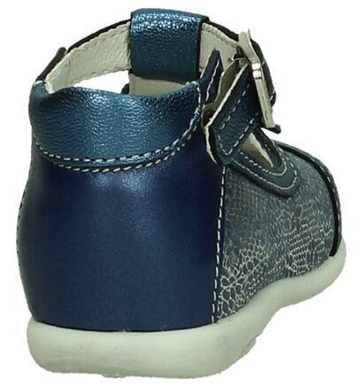 Babyschoen Blauw/Zilver Bopy Zoline, Blauw, pdp