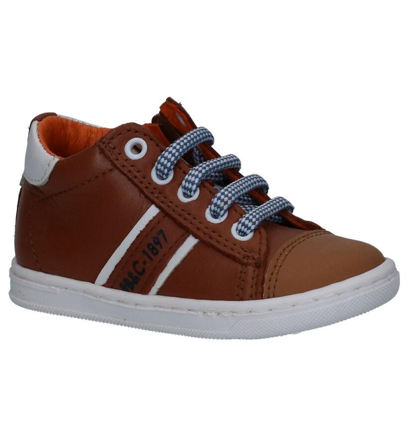 Bana & Co Chaussures pour bébé  en Cognac en cuir (271412)