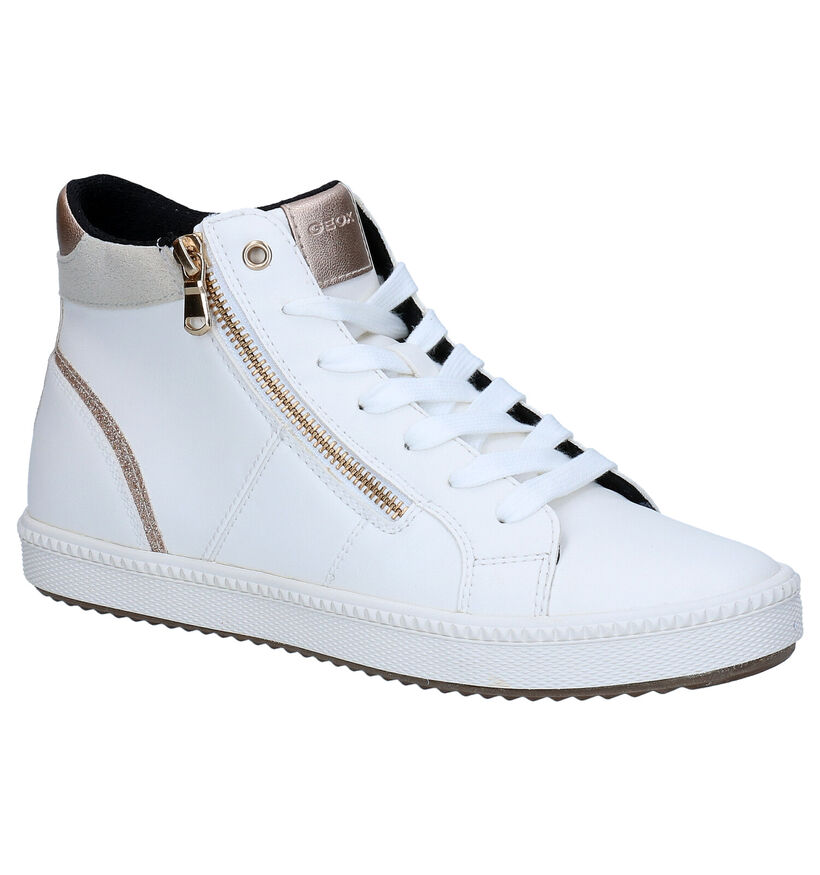 Geox Blomiee Zwarte Sneakers in kunstleer (294802)