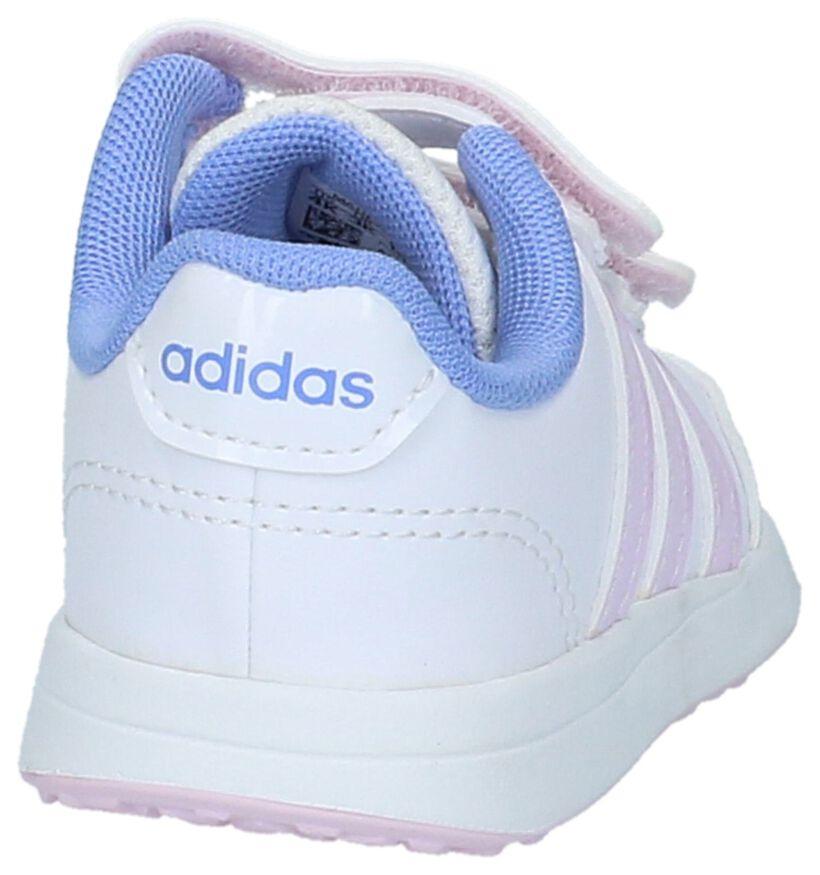 Witte adidas VS Switch Babysneakers in kunstleer (208929)