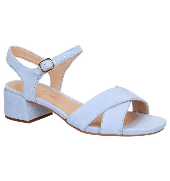 Clarks Blauwe Sandalen