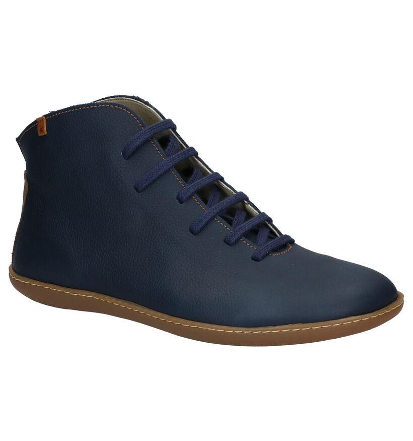 El Naturalista El Viajero Chaussures hautes en Noir en cuir (281350)