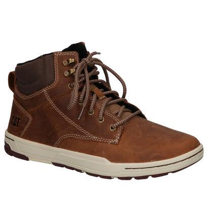 Caterpillar Colfax Bruine Boots in leer (256182)