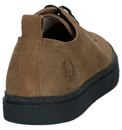 Cognac Casual Veterschoenen Fred Perry in daim (224342)