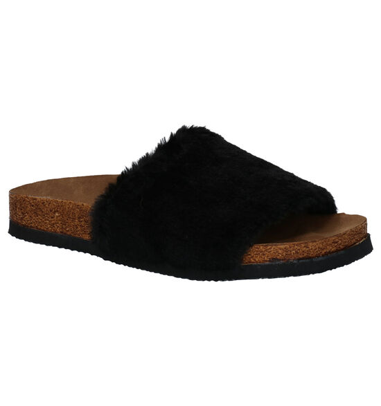 Inuovo Lucy Zwarte Slippers
