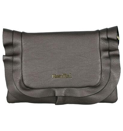 Kisses of Pearl Pochettes en Noir en simili cuir (261955)