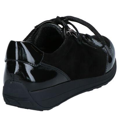 Ara Baskets basses en Noir en cuir verni (260837)