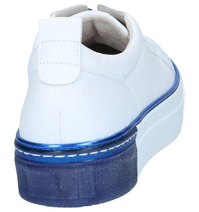 Gabor Chaussures à lacets en Blanc en cuir (245392)