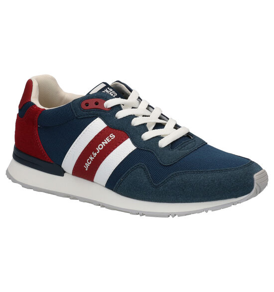 Jack & Jones Stellar Blauwe Veterschoenen