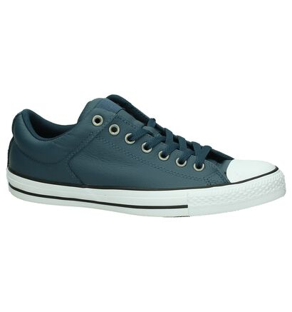 Converse CT All Star High Street Lage Blauwe Sneakers, Blauw, pdp